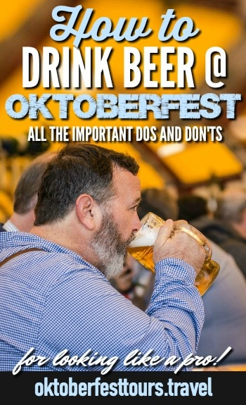 how to drink beer at oktoberfest: holding the glass correctly #oktoberfest #beer #munich #germany