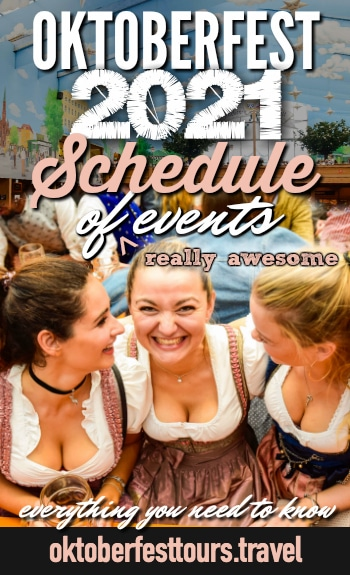 Oktoberfest 2021 Schedule of Events in Munich, Germany Guide - what you need to know #Oktoberfest #Munich #Germany #beer #festival